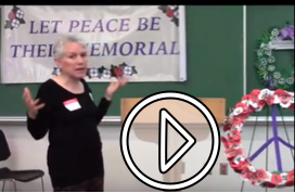 Teresa's VIPDN talk about Remembrance Day